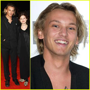 Jamie Campbell Bower: 'Anonymous' Premiere with Bonnie Wright