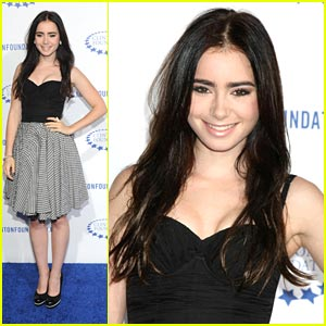 Lily Collins: 'A Decade of Difference' Gala
