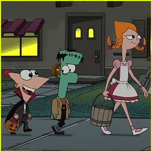 Phineas &#038; Ferb: Trick Or Treat!