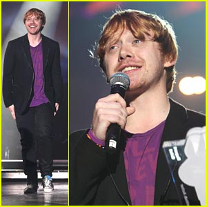 Rupert Grint: Best British Actor at Teen Awards!