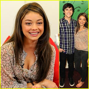 Sarah Hyland & Mitchel Musso: AMA Nominees Conference!