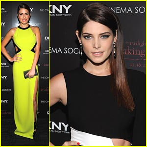 Ashley Greene & Nikki Reed: 'Breaking Dawn' in the Big Apple!