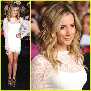 Ashley Tisdale: 'Breaking Dawn' Premiere Pretty!