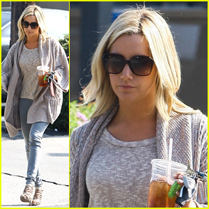 Ashley Tisdale: Coffee Bean Cutie