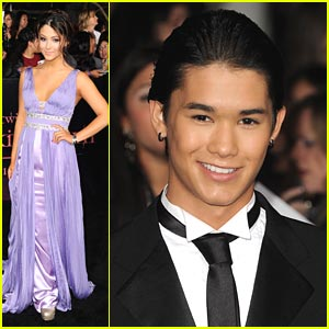 Booboo Stewart: 'Breaking Dawn' Premiere with Fivel