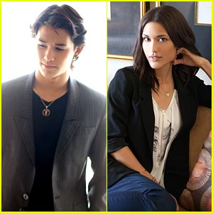 Booboo Stewart & Julia Jones: Exclusive Portrait Sessions!