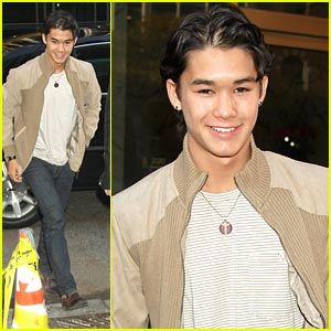 Booboo Stewart Takes New York