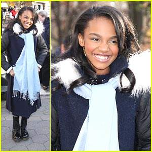 China Anne McClain: Macy's Thanksgiving Parade Pretty