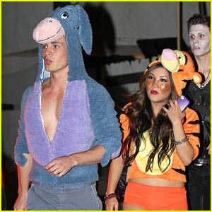 Colton Haynes &#038; Ally Maki: Eeyore &#038; Tigger!