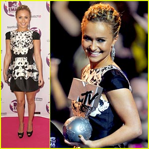 Hayden Panettiere is 'Over The Wall'