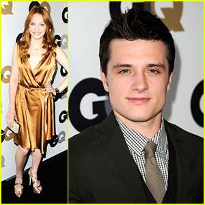 Josh Hutcheron & Jacqueline Emerson: GQ Party Pair