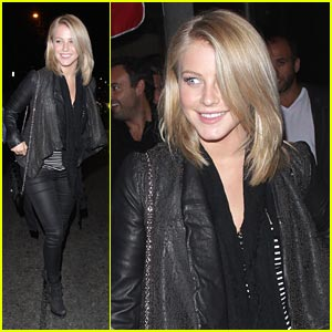 Julianne Hough: Mercato di Vetro Dinner Date with Ryan Seacrest