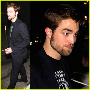Robert Pattinson Leaves 'Jimmy Kimmel Live!'