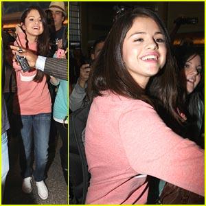 Selena Gomez: Belfast, Here I Come!