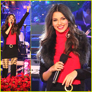 Victoria Justice: The Grove's Tree Lighting