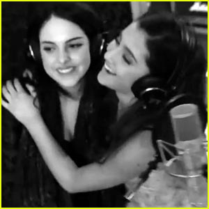 Ariana Grande & Elizabeth Gillies: 'The Christmas Song' Video!