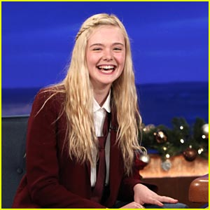 Elle Fanning: Conan Cutie