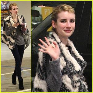 Emma Roberts: Gym Time!