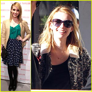 Emma Roberts: Rebecca Taylor Store Opening