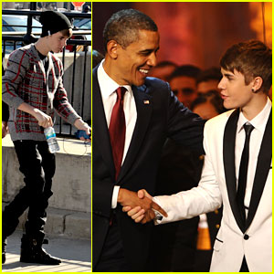 Justin Bieber: Christmas in Washington!