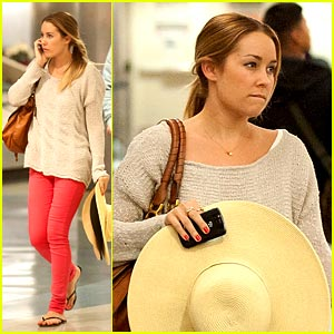 Lauren Conrad: No Luggage at LAX