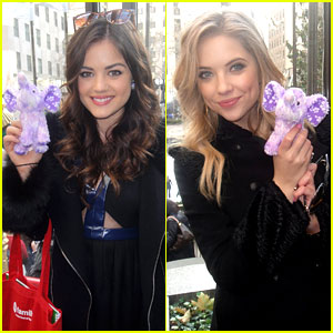 Lucy Hale &#038; Ashley Benson: Pretty Little Elephants!