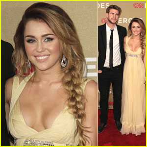Miley Cyrus: CNN Heroes with Liam Hemsworth!