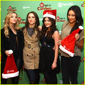 Lucy Hale &#038; Troian Bellisario: Pretty Little Ice Skaters