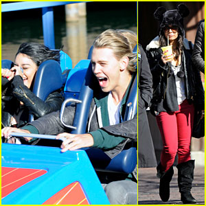 Vanessa Hudgens & Austin Butler: Disneyland Day!