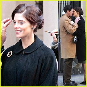 Ashley Greene: Kisses For Michael Moseley