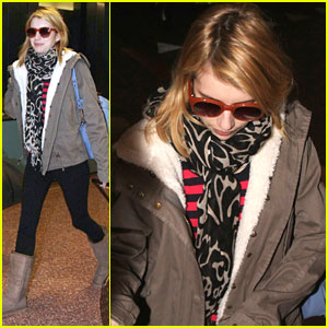 Emma Roberts Arrives For Sundance