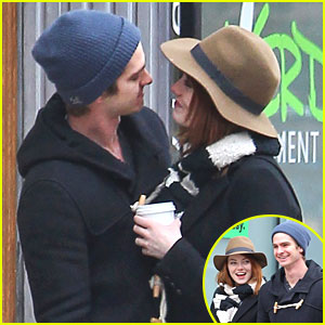 Emma Stone &#038; Andrew Garfield: Sunday Sweethearts