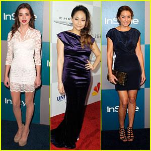 Raven Symone, Gia Mantegna, & Lauren Conrad: Golden Globes Parties!