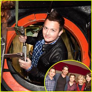 Noah Munck: iCarly Visits New London Naval Submarine Base