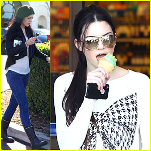 Kendall &#038; Kylie Jenner: Ice Cream Sisters