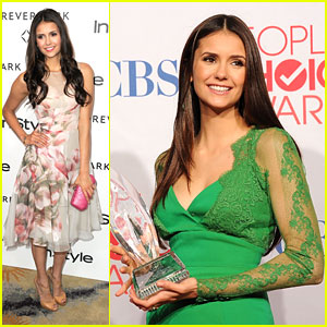 Nina Dobrev Wins Favorite TV Drama Actress!