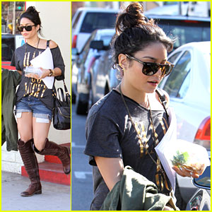 Vanessa Hudgens Starts Rehearsals for 'Spring Breakers'