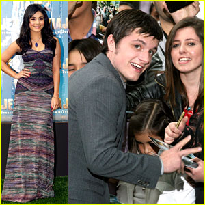 Josh Hutcherson & Vanessa Hudgens: 'Journey 2' Premiere in Mexico City!