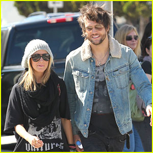 Ashley Tisdale & Martin Johnson: Shopping in Beverly Hills