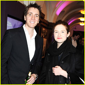 Bonnie Wright & Oliver Phelps: London Evening Standard British Film Awards 2012