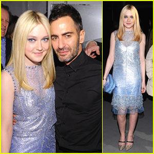 Dakota Fanning: New York Fashion Week with Marc Jacobs