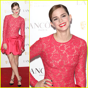 Emma Watson: Lancome Pre-Bafta Party Hostess
