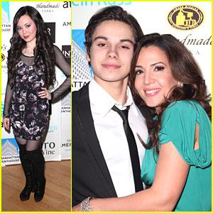 Jake T. Austin: INTAR Gala with Maria Canals-Barrera