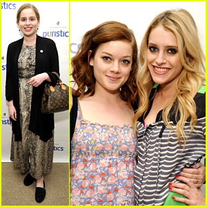 Jane Levy & Carly Chaikin: Puristics Pair