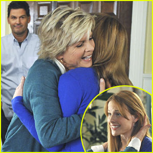 Katie Leclerc: Hugs From Meredith Baxter!