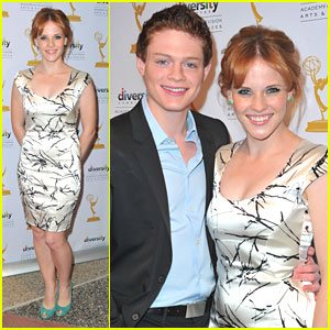 Katie Leclerc &#038; Sean Berdy: 'Switched at Birth' Academy Screening!