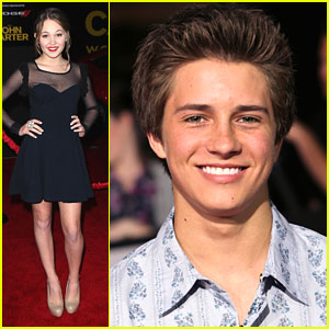 Billy Unger &#038; Kelli Berglund: 'John Carter' Premiere!
