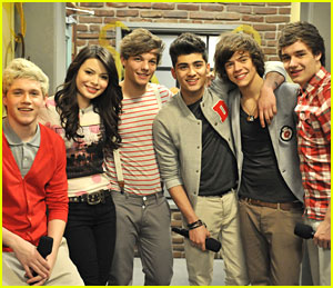 One Direction on 'iCarly' -- First Pic!
