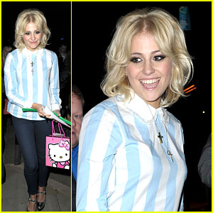 Pixie Lott: 'Ed Sheeran Deserves All The Awards He's Up For'