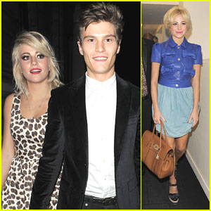 Pixie Lott &#038; Oliver Cheshire: Temperley London &#038; Mulberry Shows